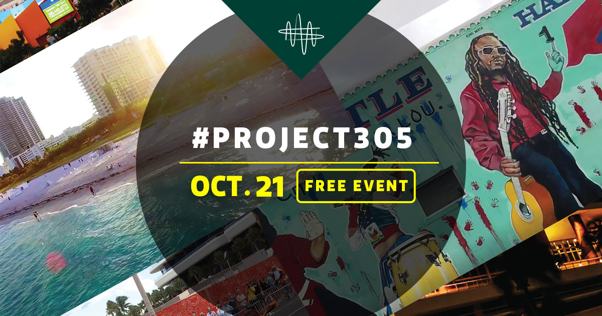 Watch #project305 on Facebook Live Oct. 21